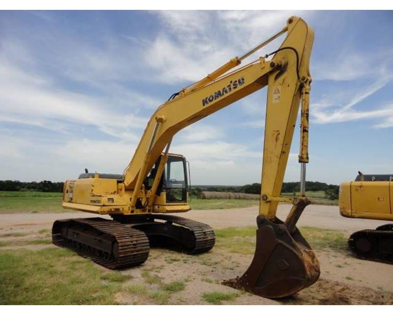 2005 Komatsu PC200 LC Excavator For Sale