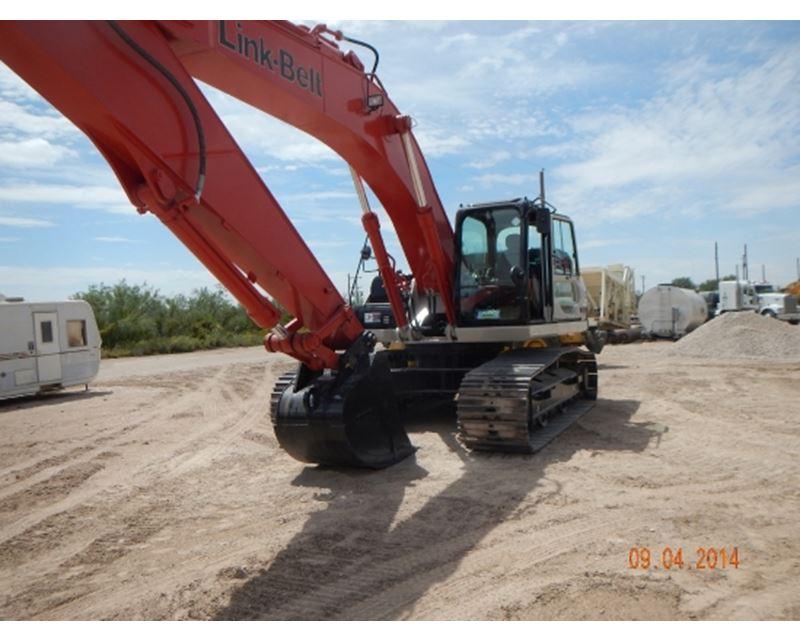 2014 Link-Belt 350X3EX Crawler Excavator For Sale