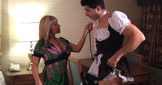men in maids uniforms