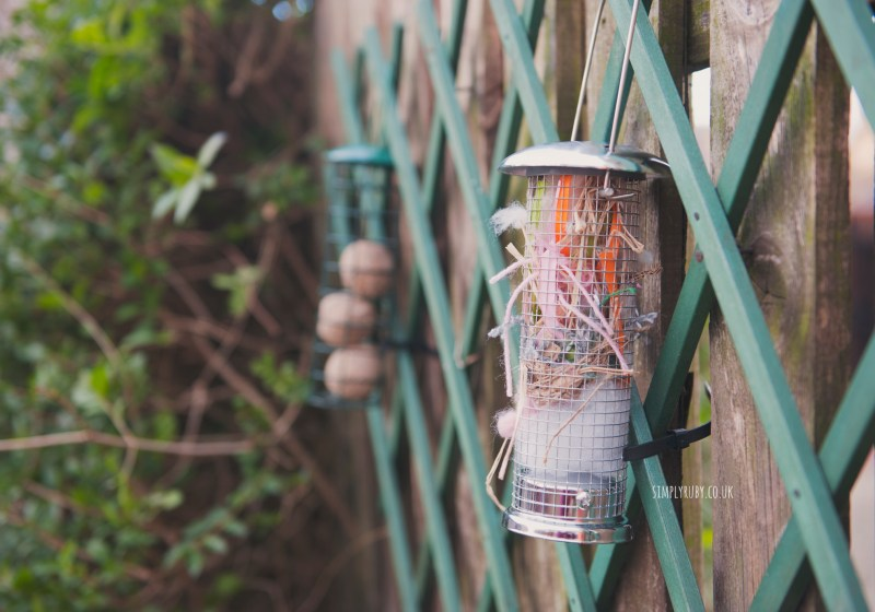 bird, feeder, crafts, spare, yarn, thread, material, ribbons, twine, garden, kids, children, spring