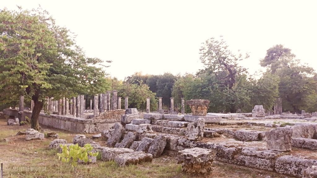 Γυμνασιο αρχαιολογικός χώρος Ολυμπίας