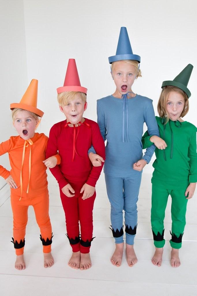 diy αποκριάτικες στολές για παιδιά