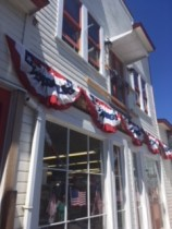 Decorations for the Fourth of July