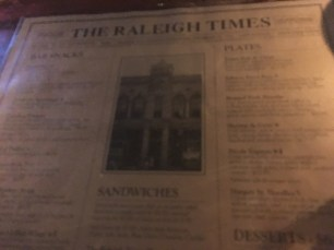 Raleigh Times