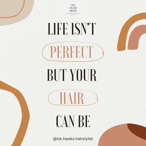 Life isn't perfect graphic