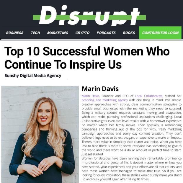 Disrupt Magazine Feature