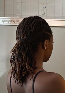 Easy Loc Styles For Medium Hair Short Hair Or Long Hair My Locks Journey