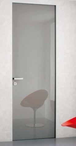 PT grey shiny lacquer door πόρτα γυαλιστερή λάκα γκρι χωρίς κάσα Loft mylofteu