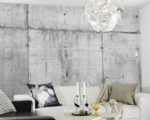 Wallpaper concrete 3 ταπετσαρία τσιμέντου Loft mylofteu