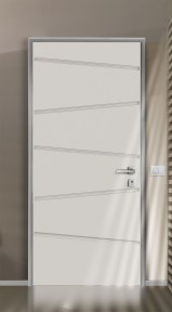 cargo white silver security door πόρτα ασφαλείας Loft mylofteu