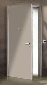 flat2 minimal lacquered security door πόρτα ασφαλείας λάκα Loft mylofteu