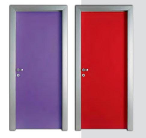 aluminum frame two doors 3 πόρτα κάσα αλουμινίου Loft mylofteu