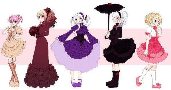 Beautiful Lolita Cartoon Images