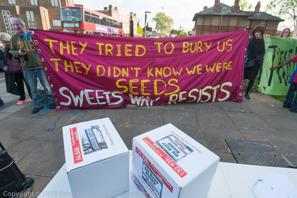 Image result for they tried to bury us. they didn't know we were seeds, protest