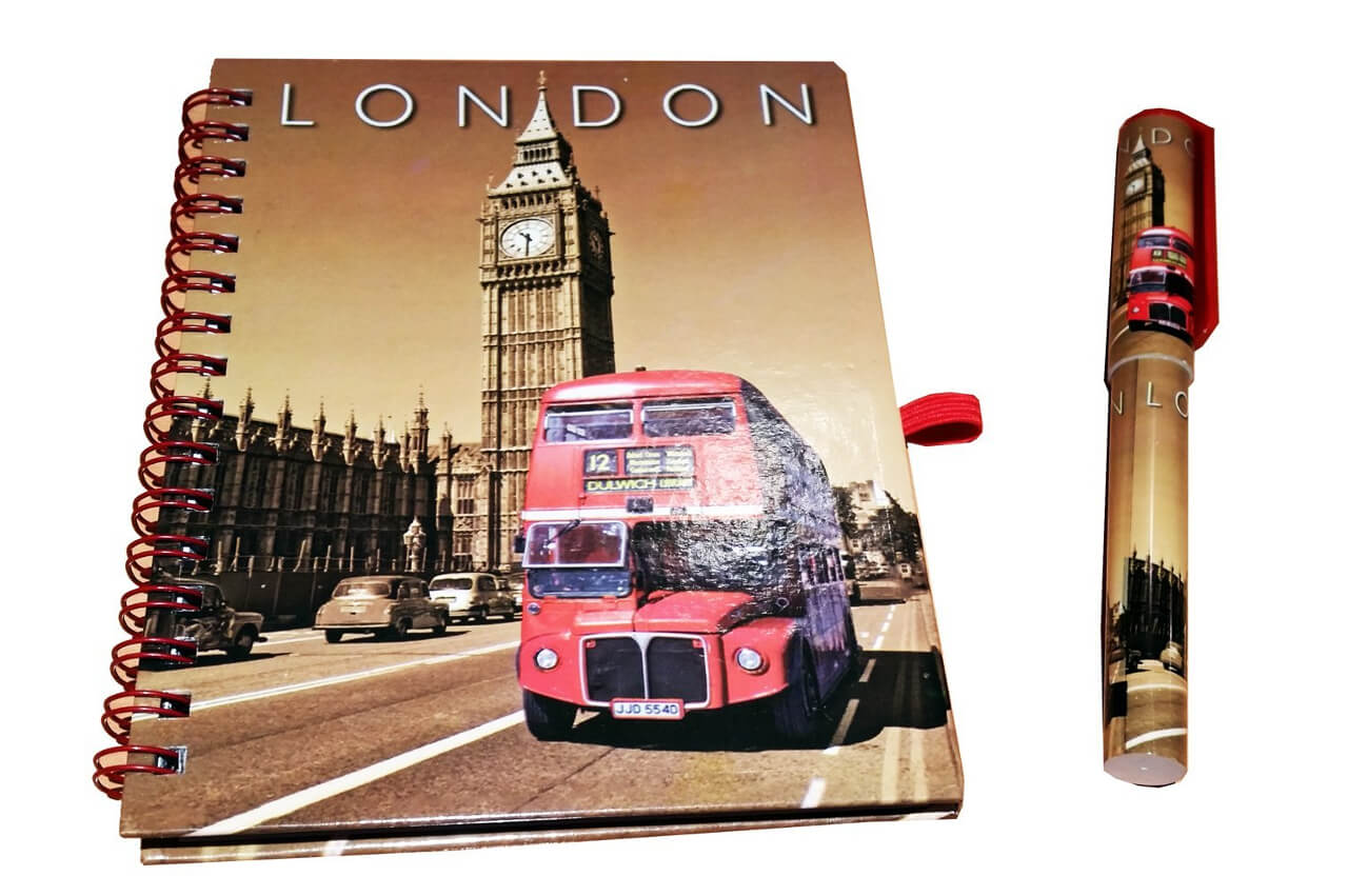 London UK Souvenirs for School and Office