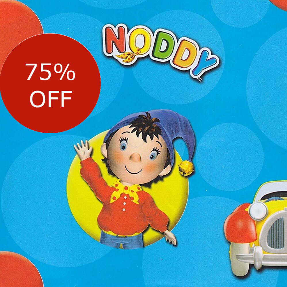 Noddy Gift Wrapping Paper Discount