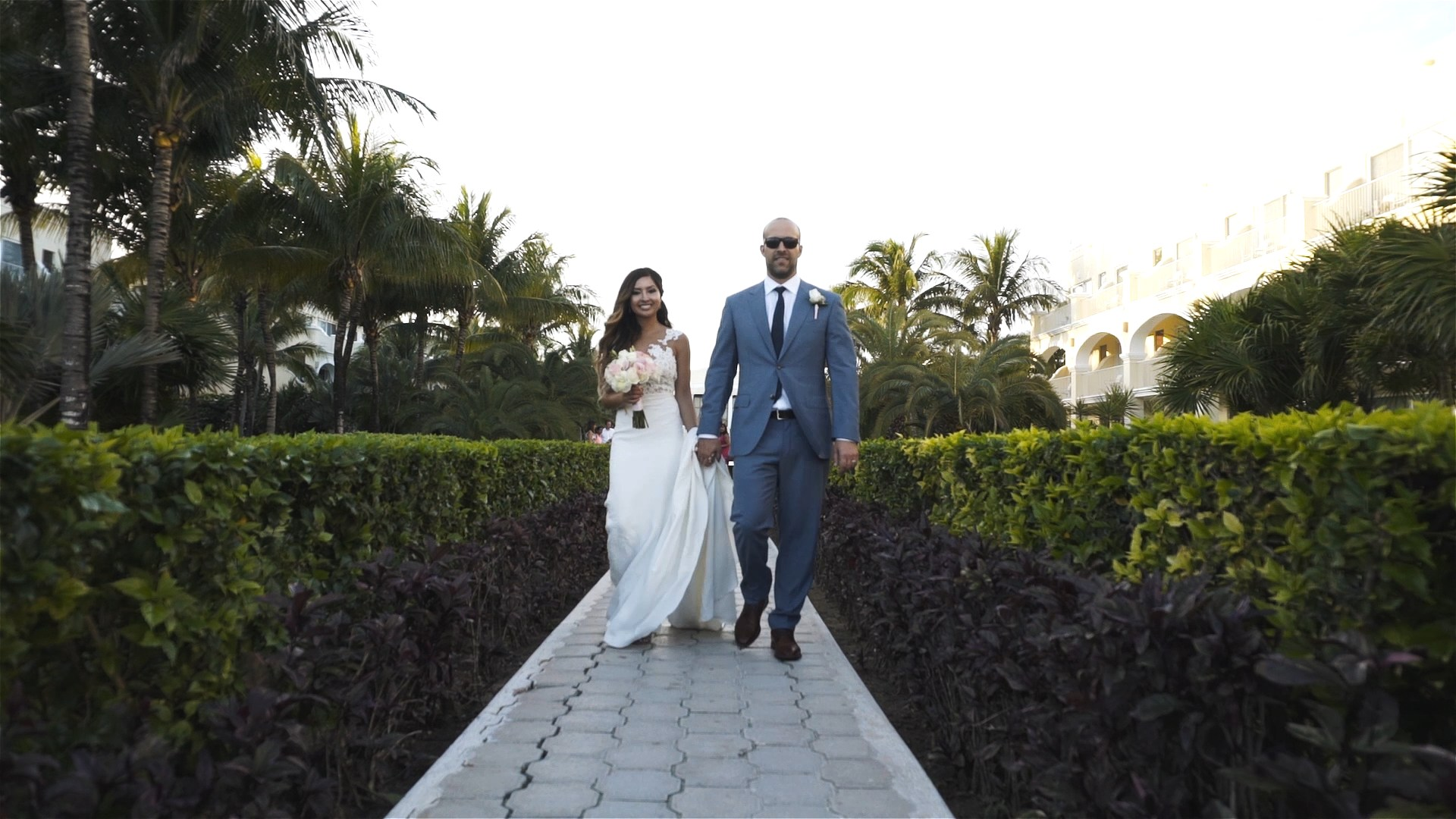 Romina + Brendan Get Married at Dreams Tulum Resort & Spa - Wedding Film Photographer: Jaime Glez