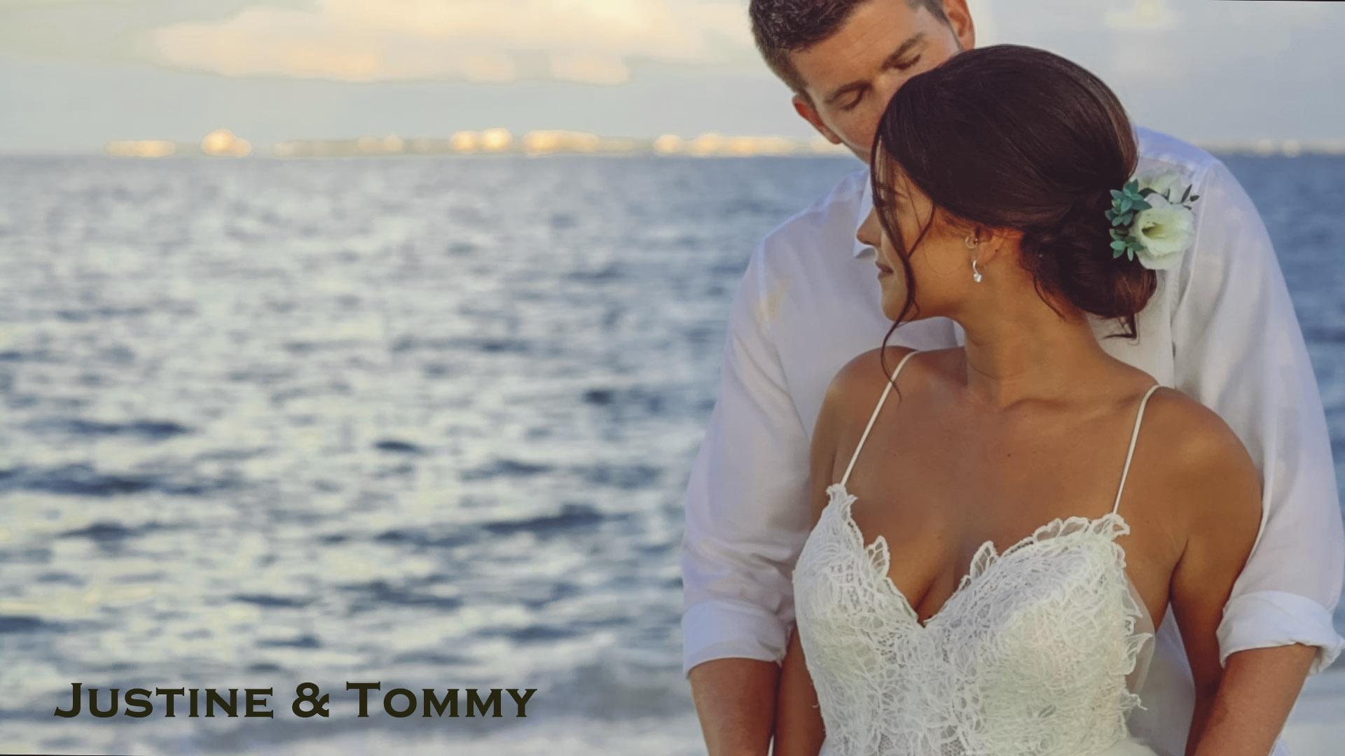 Destination Wedding at Secrets Playa Mujeres Resort – Justine & Tommy