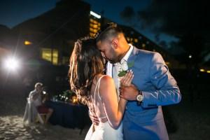 Emotional Wedding day - Iberostar Cancun