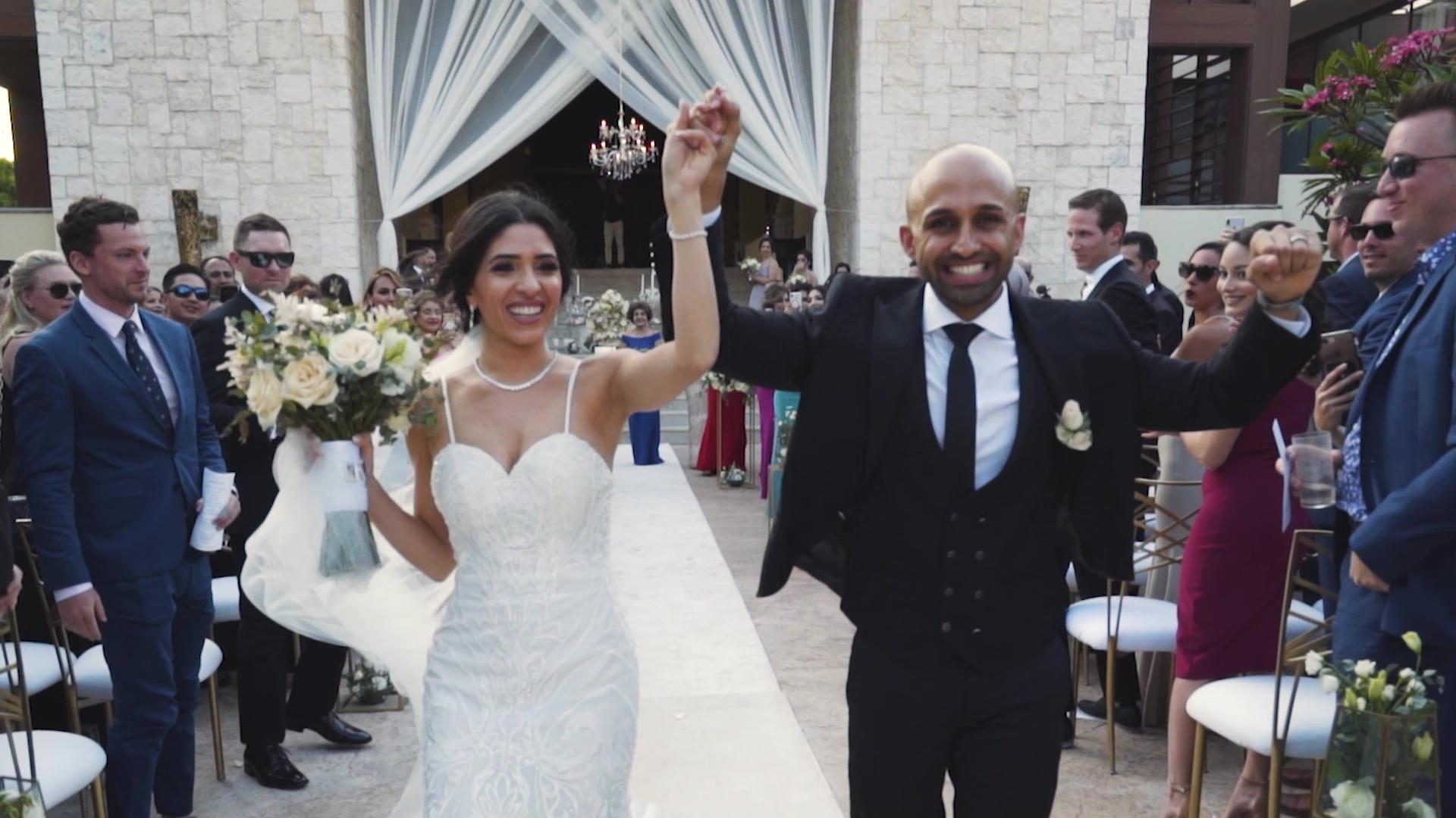 Wedding Video at Dreams Riviera Maya