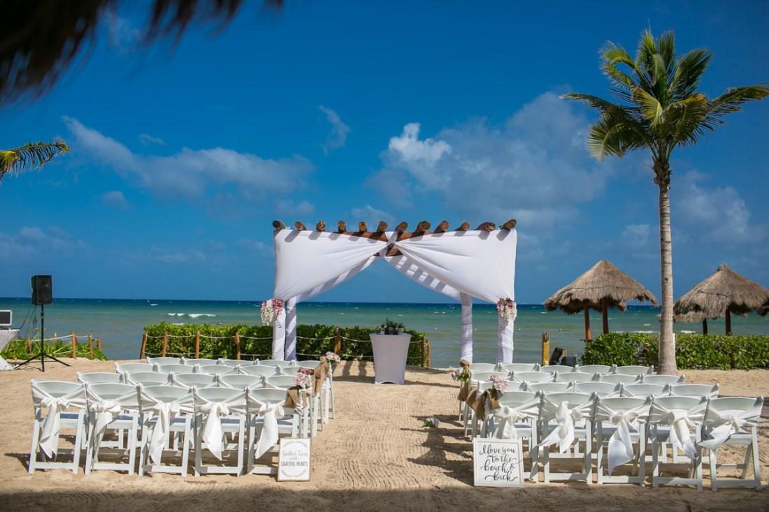 Wedding day at Ocean Riviera Paradise