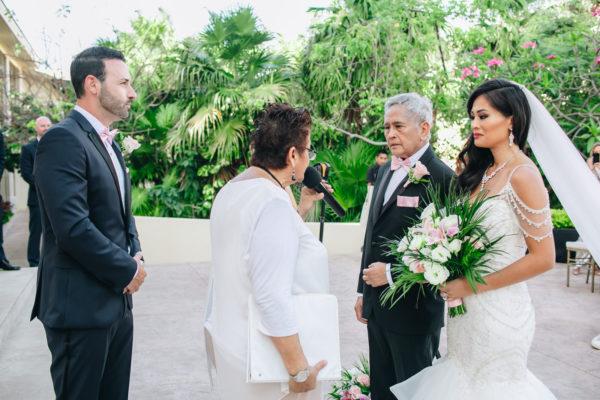 ceremony at Dreams Riviera Cancun