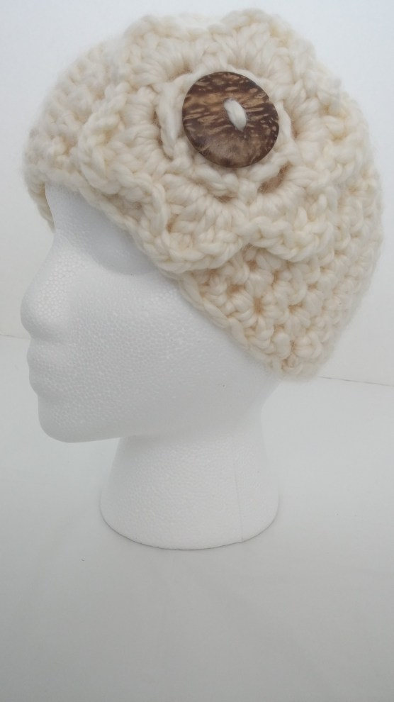 Delightfully Chunky Crochet Headband Earwarmer