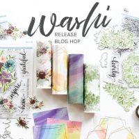 Pinkfresh Studio June Washi Release Blog Hop