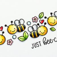 Sunny Studio Stamps Just Bee-Cause