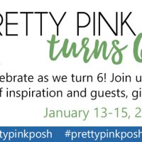 Pretty Pink Posh 6th Birthday Blog Hop