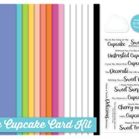 My Favorite Things Icing On The Cupcake Card Kit