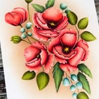 Gina K. Designs Timeless Poppies