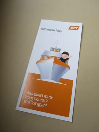 Ferry leaflet