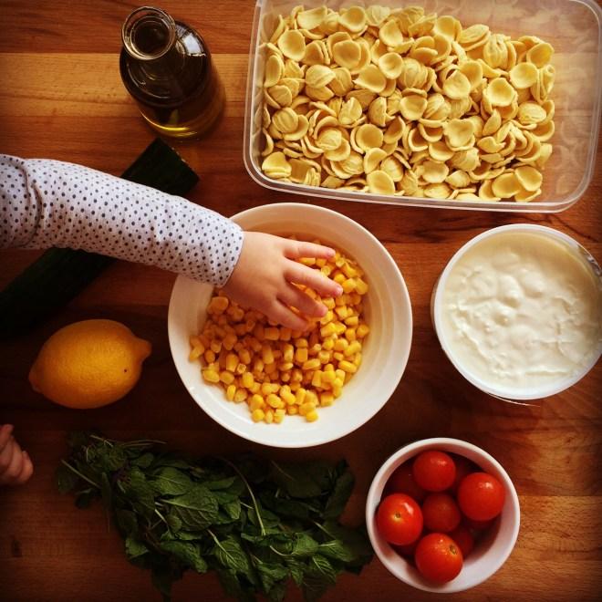 Sweetcorn Pasta Salad My Lovely Little Lunch Box