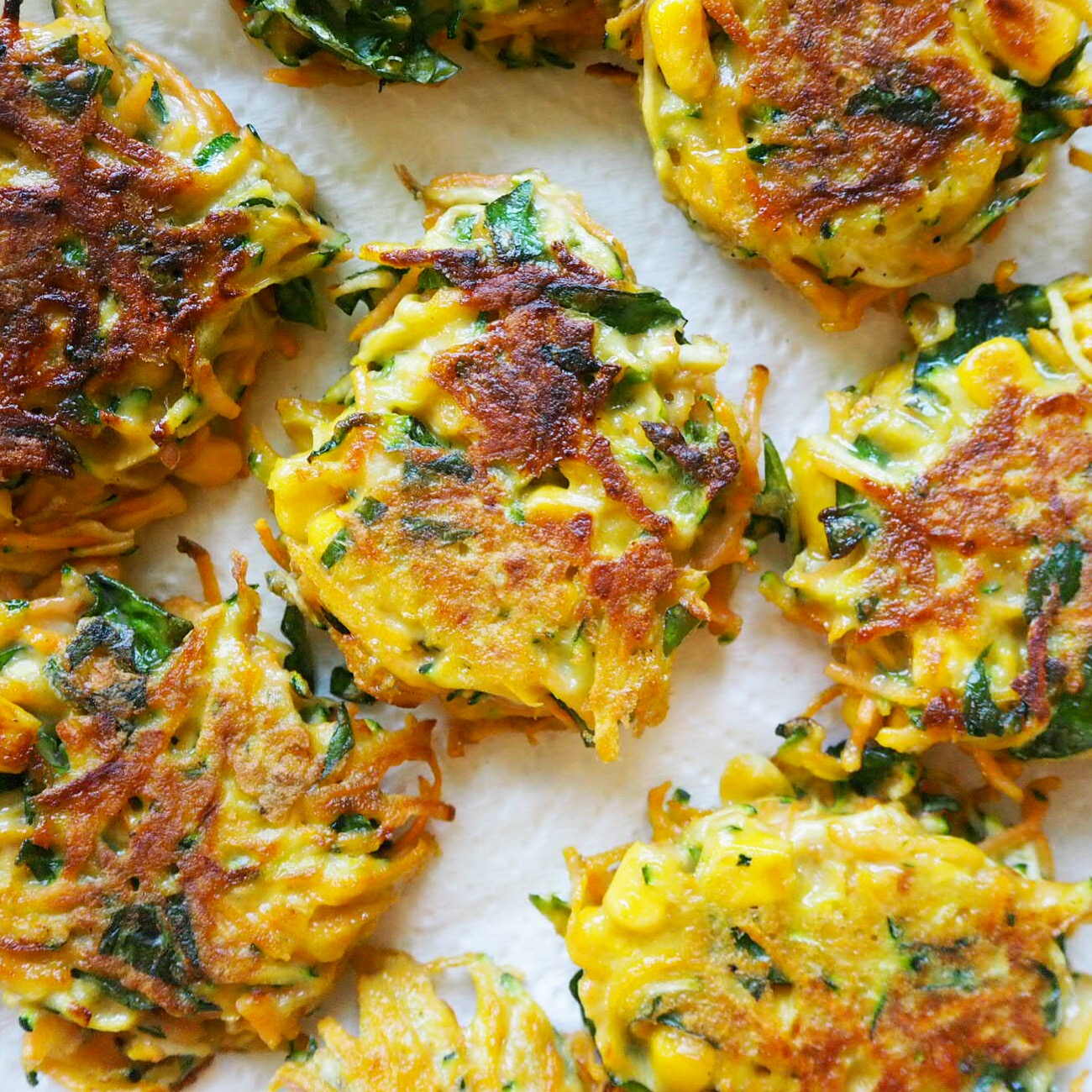 Watch Clean Eating Vegetable Fritters video