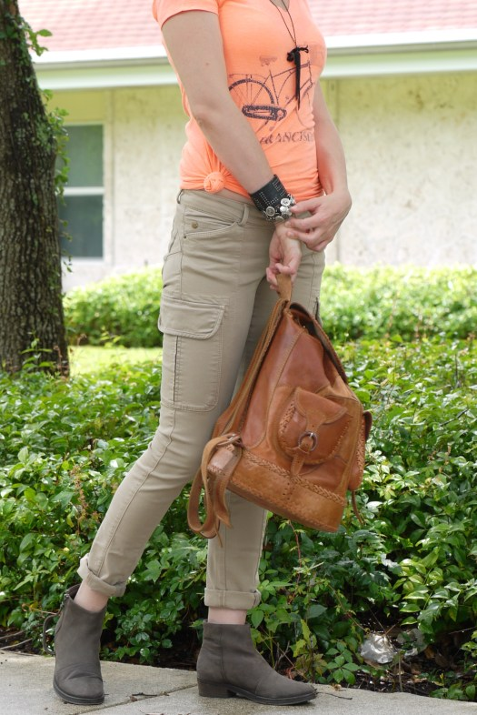 cargo pants with booties By Mylovelypeople