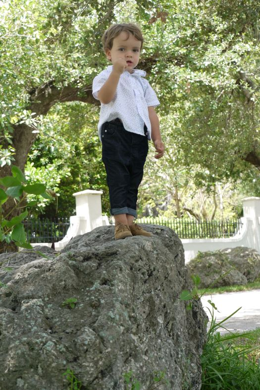 Alba Marina Otero fashion blogger from Mylovelypeople blog shares with you some pics of her little prince