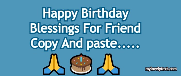 Birthday Blessings For Friend