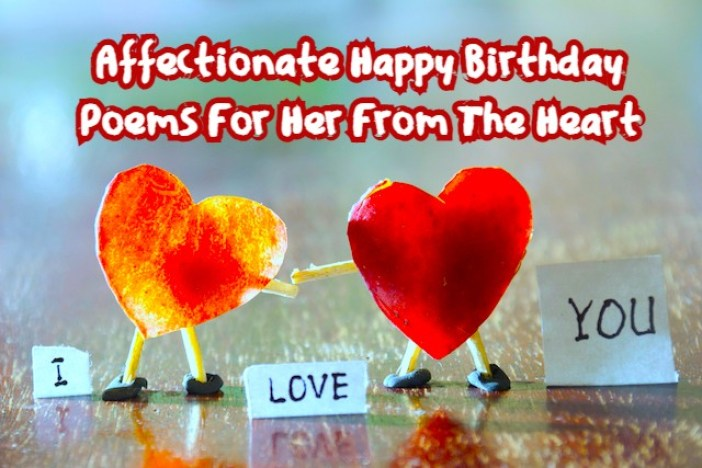 Birthday Poems For Her