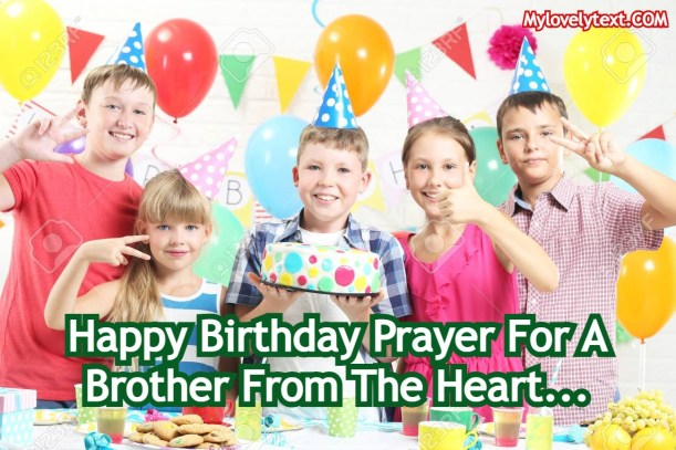 Birthday Prayer For A Brother