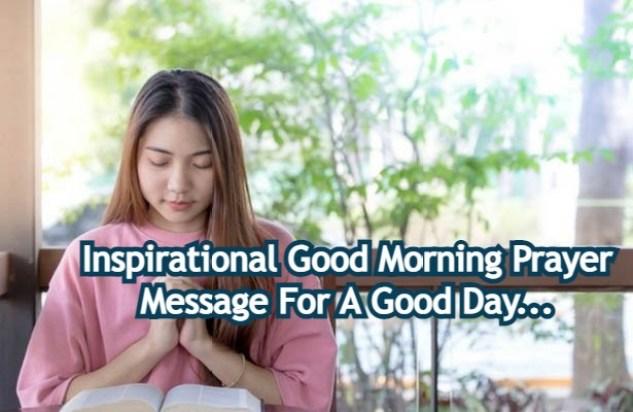 Good Morning Prayer Message