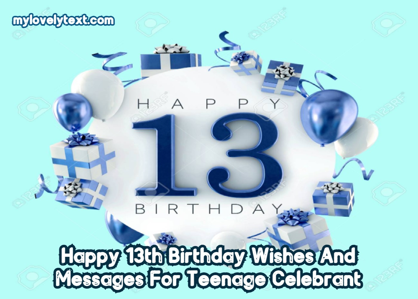 Happy 13th Birthday Wishes Messages For Teenage Celebrant