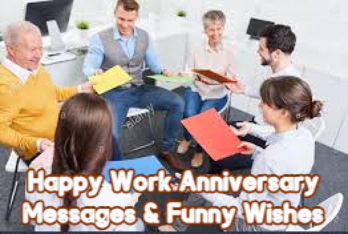 Happy Work Anniversary Messages