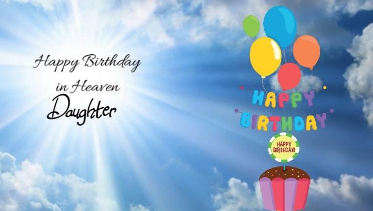 happy birthday in heaven daughter