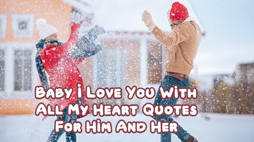 I Love You With All My Heart Quotes
