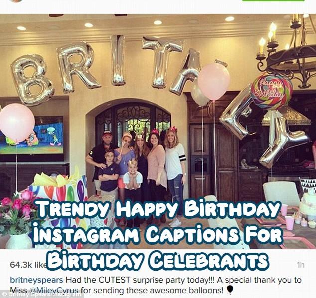 Birthday Instagram Captions