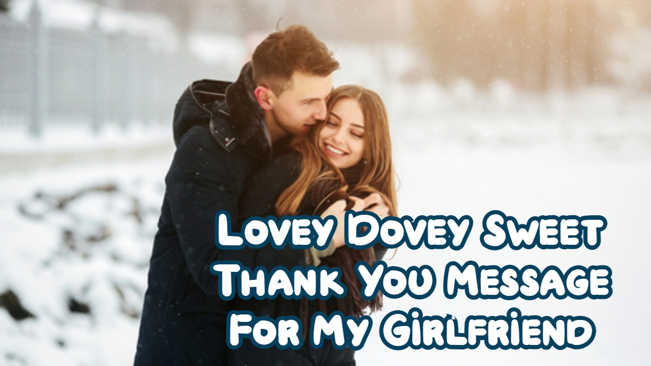 Thank You Message For Girlfriend