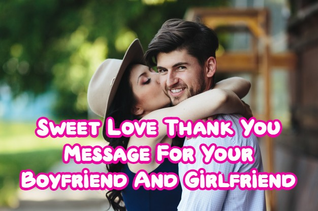 thank you message love