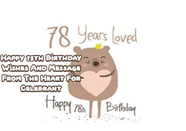 Happy 78th Birthday