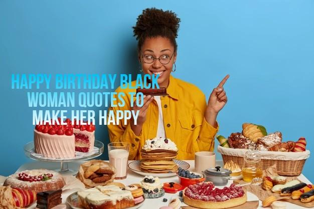 Happy Birthday Black Woman